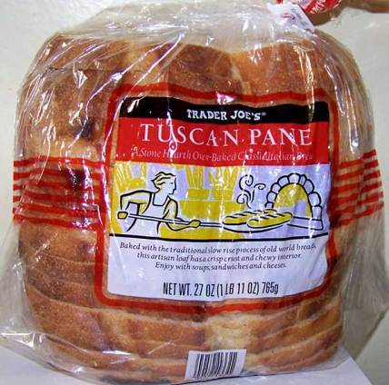 Image result for Trader Joe's Tuscan Pane ingredients