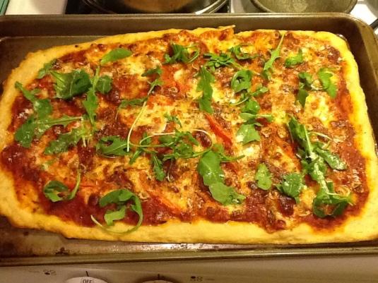 Pizza, No Knead