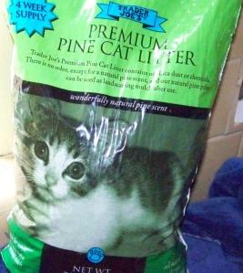 pinecatlitter